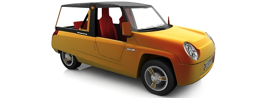 Rinspeed BamBoo concept for Geneva. Image by Rinspeed.