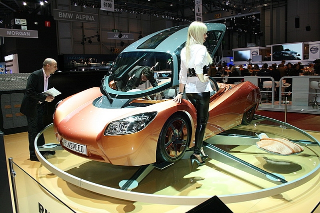 The Car Enthusiast Image Gallery 2009 Rinspeed Ichange Concept