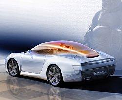 2006 Rinspeed zaZen concept car. Image by Rinspeed.