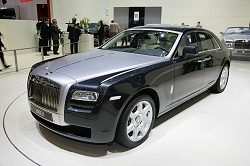 2009 Rolls-Royce  200EX concept. Image by Newspress.
