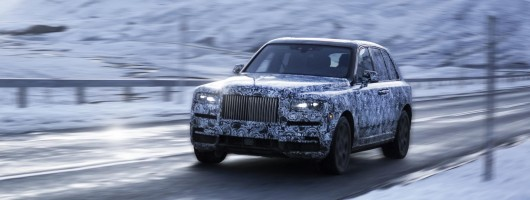 Rolls confirms Cullinan name for new SUV. Image by Rolls-Royce.