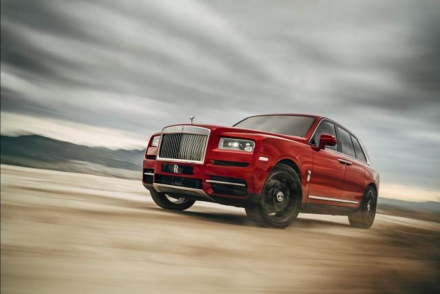 Rolls-Royce reveals long-awaited SUV. Image by Rolls-Royce.