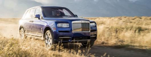 First drive: Rolls-Royce Cullinan. Image by Rolls-Royce.