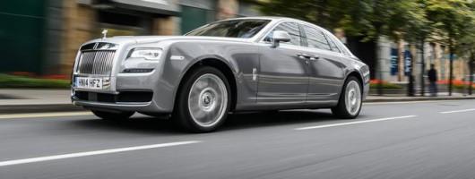 First drive: Rolls-Royce Ghost Series II. Image by James Lipman.