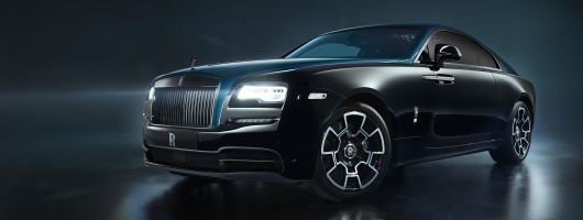 Rolls-Royce goes strong with Black Badge Adamas pair. Image by Rolls-Royce.