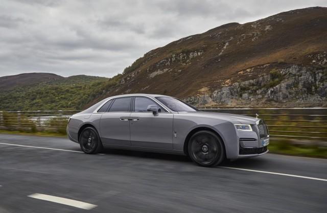 First drive: Rolls-Royce Ghost. Image by Rolls-Royce.