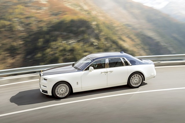 First drive: Rolls-Royce Phantom. Image by Rolls-Royce.