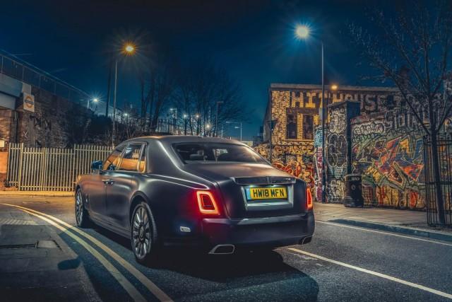 First UK Drive: Rolls-Royce Phantom VIII. Image by Rolls-Royce UK.