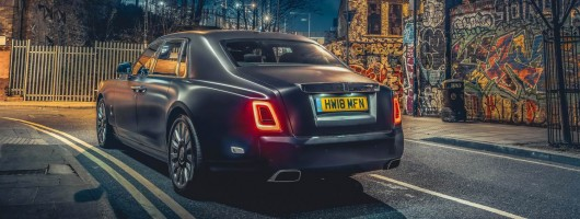First UK Drive: Rolls-Royce Phantom VIII. Image by Rolls-Royce UK.