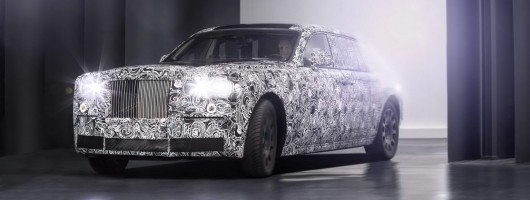 Rolls-Royce ups development on new chassis. Image by Rolls-Royce.
