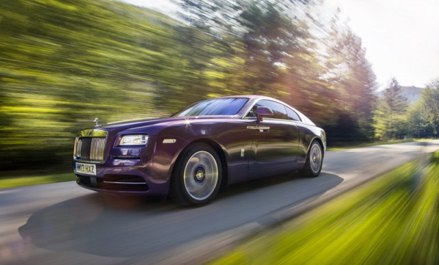 First drive: Rolls-Royce Wraith. Image by Rolls-Royce.