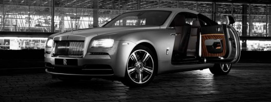 Wraith hits the big screen as Rolls rolls film. Image by Rolls-Royce.