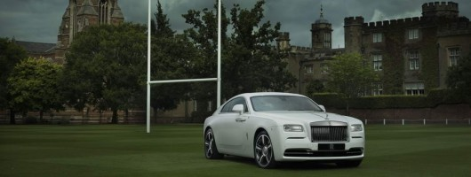 Egg-chasing fans get special Rolls-Royce Wraith. Image by Rolls-Royce.