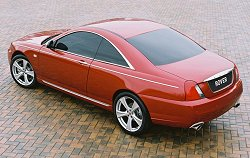 Rover 75 Coupe concept - how Rover should be. Image by Rover.