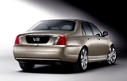 2004 Rover 75 V8. Image by Rover.