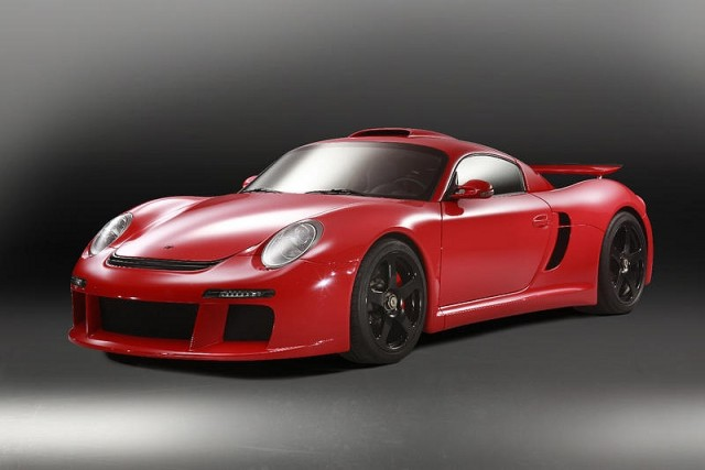 Ruf reveals new CTR 3 supercar. Image by Ruf.