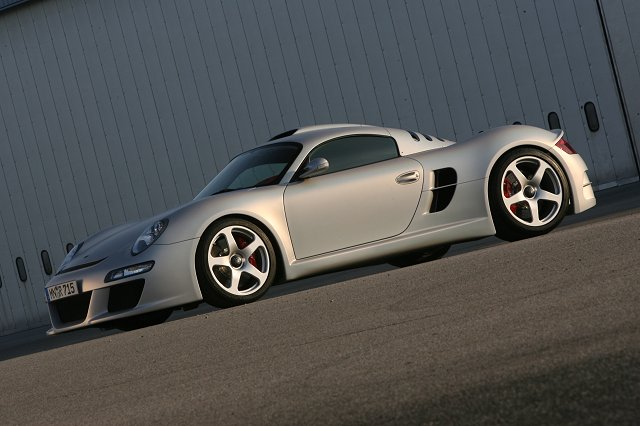 RUF builds its own supercar. Image by RUF.