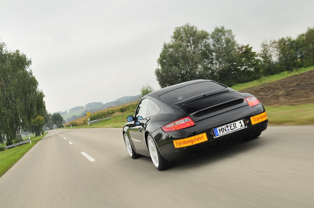 Ruf shows electric Porsche 911. Image by Ruf.