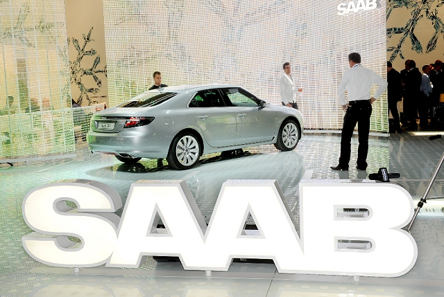 Frankfurt Motor Show: Saab 9-5. Image by United Pictures.