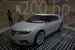 2008 Saab 9-X BioHybrid concept. Image by Kyle Fortune.