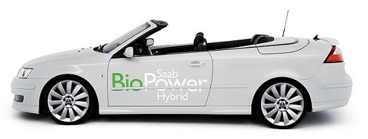 Saab offers BioPower across the range. Image by Saab.