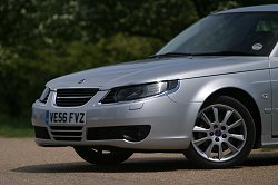 2007 Saab 9-5. Image by Syd Wall.