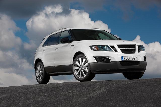 Saab 9-4X crossover revealed. Image by Saab.
