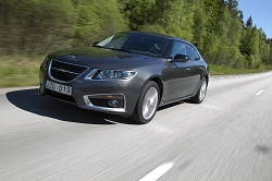 2010 Saab 9-5. Image by Charlie Magee.