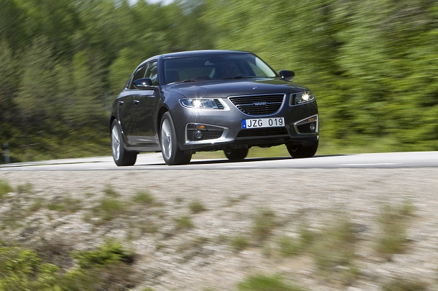 First Drive: Saab 9-5. Image by Charlie Magee.