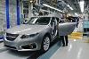 2010 Saab 9-5 enters production. Image by Saab.
