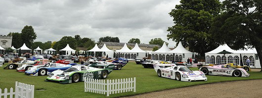 Salon Privé, the motorshow for the well-heeled. Image by Max Earey.