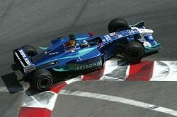 Heidfeld finished 8th in the Sauber. Image by Sauber. Click here for a larger image.