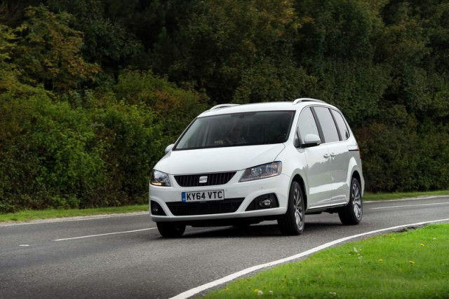 Driven: SEAT Alhambra SE LUX. Image by SEAT.