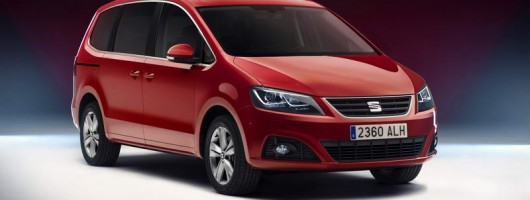 SEAT's biggest gets makeover. Image by SEAT.