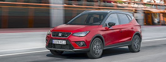 First drive: SEAT Arona. Image by SEAT.