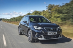 Seat Arona gets a facelift. Image by Seat UK.