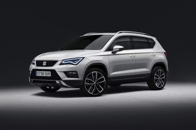 More details released for SEAT Ateca. Image by SEAT.