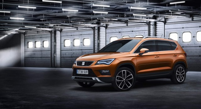 SEAT previews its new Ateca SUV. Image by SEAT.