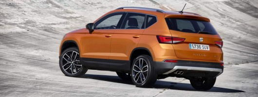 Incoming: SEAT Ateca. Image by SEAT.