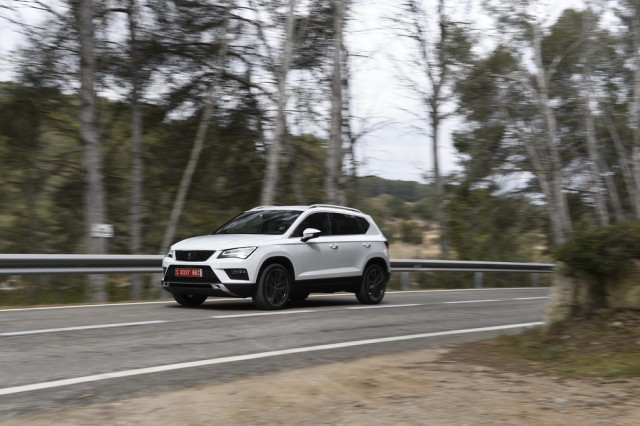 First drive: SEAT Ateca. Image by SEAT.