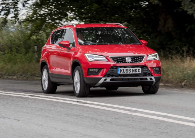 Road test: SEAT Ateca 4Drive. Image by SEAT.