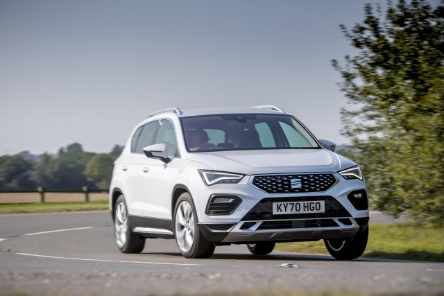 First drive: SEAT Ateca 2021MY. Image by SEAT UK.