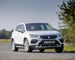 Updated SEAT Ateca tested in UK. Image by SEAT UK.