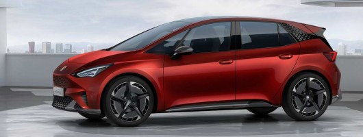 SEAT reveals el-Born EV. Image by SEAT.