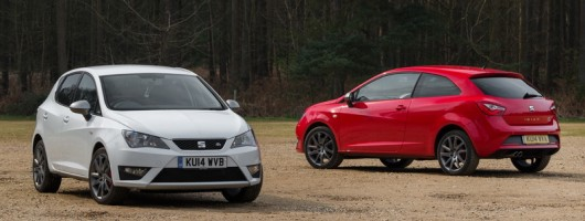 SEAT revamps Ibiza FR. Image by SEAT.