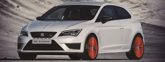 SEAT Leon Cupra goes Ultimate Sub8. Image by SEAT.