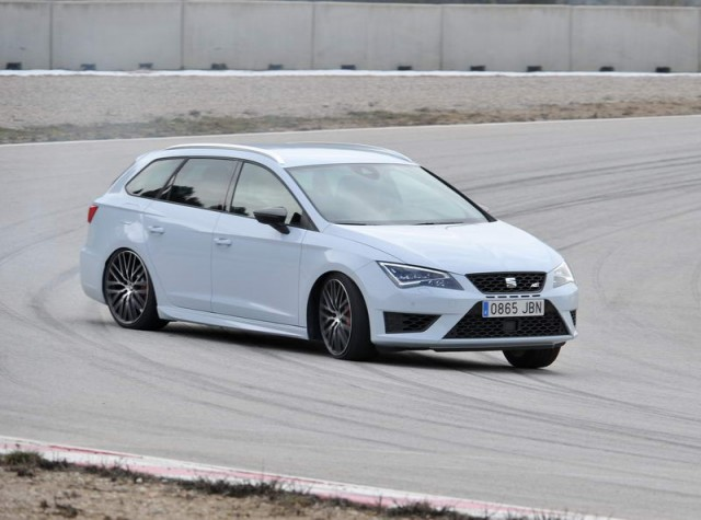 First drive: SEAT Leon ST Cupra. Image by SEAT.
