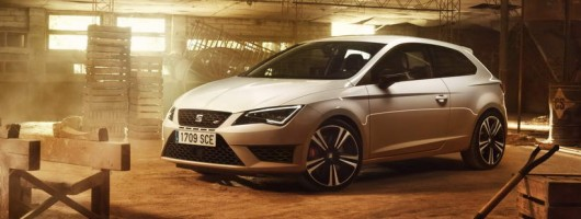 SEAT Leon Cupra becomes even more powerful. Image by SEAT.