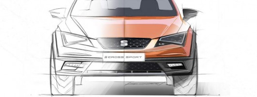 SEAT's first SUV will be the Leon Cross. Image by SEAT.