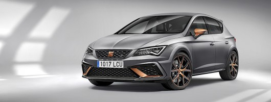 Limited-run SEAT Leon Cupra R revealed. Image by SEAT.